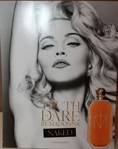 11 Madonna Truth or Dare Fragrance Advertising Easel Cards Very RARE