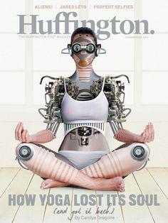 Huffington Magazine This Week: Yoga, Inc. #yogasprogression