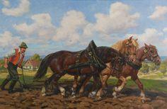 Leszek PIASECKI (1928-1990)  Orka olej, płótno, 61 x 92 cm;  sygn. l. d.: Leszek Piasecki