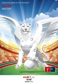 #Russia release promotional poster to publicise Kazan city for #WorldCup2018