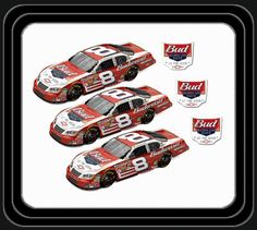Dale Earnhardt Jr ran this paint for Speedweeks 2005. Each time the car raced it would display that date.