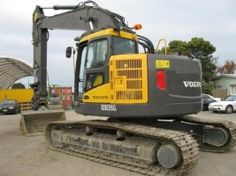 1284 best excavators images on pinterest in 2018 crane heavy rh pinterest com IL Volvo EC330BLC Specs 2004 Volvo Track