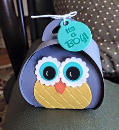 #SU Curvy Keepsake Owl Box