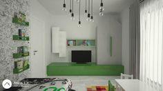 Kids-room design by Anita Ilie Casa Patrata Kids Room Design, Room Ideas, Kids Rugs, Interior Design, Children, Projects, Home Decor, Houses, Nest Design