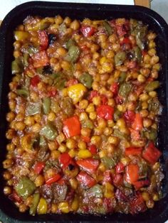 Greek Cooking, Fun Cooking, Cooking Recipes, Bean Recipes, Vegetarian Recipes, Healthy Recipes, Cypriot Food, Greek Dishes, Mediterranean Recipes