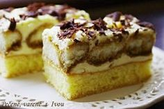NEBESKÁ MÁŇA Sweet Desserts, Sweet Recipes, Cake Recipes, Healthy Diet Recipes, Desert Recipes, Graham Crackers, Creative Food, Nutella, Banana Bread