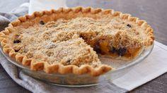 A Pillsbury® refrigerated pie crust makes pie-making just peachy!