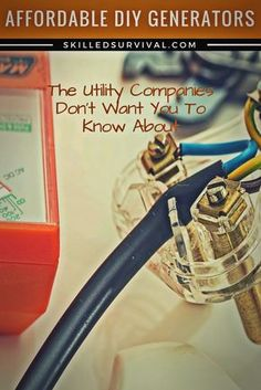 8 Affordable DIY Generators The Utility Companies Absolutely Hate #prepper #survival