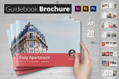 Guidebook Brochure by Nicodin on @creativemarket
