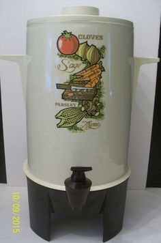 Vtg 70's Regal Poly Perk 10-20 Cup Automatic Electric Coffee Maker Percolator