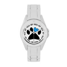 Vet Tech Watch Cat and Dog Paw Design http://www.zazzle.com/vet_tech_watch_cat_and_dog_paw_design-256740627315564912?rf=238282136580680600*