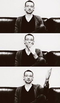 This breaks my heart and gives me joy as well. Chester's kiss to all of us to have forever. Love you Chester. RIP #makechesterproud #fuckdepression.