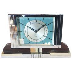 Jaz Art Deco Clock | Art Deco French Desk Clock by Jaz