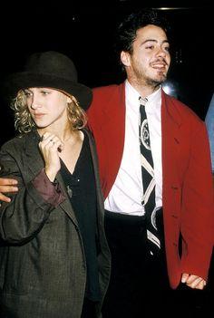 Sarah Jessica Parker & Robert Downey Jr. - the old days