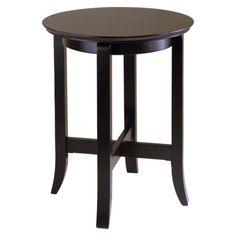 Toby End Table - Dark Espresso