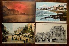 Paramé Cote d Emeraude France 5 Postcards Grand Hotel Parame 1930s Nightowlcafe
