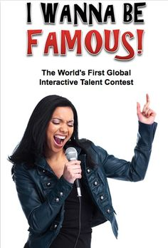 Wanna Be Famous? The Perfect Internet presents the world's first global interactive talent contest. #PI #Contest #Show