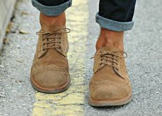 .Casual Brogues