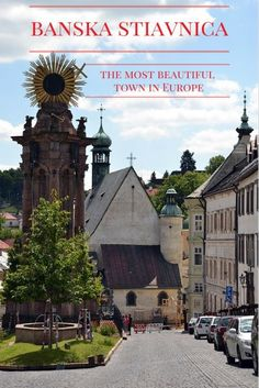 Banska Stiavnica, Slovakia is one of the most beautiful towns in Europe. Read the post to see why it's so special and why you should visit it too! Europe Travel Tips, Travel Guides, Travel Destinations, European Destination, European Travel, Beautiful Places To Visit, Cool Places To Visit, Travel Reviews, Central Europe