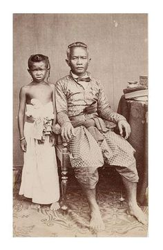 Prime Minister of the King of Cambodia Cambodia royal family in 1870.