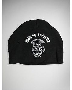 57805cc018e Sons of Anarchy Rocker Reaper Baby Knit Hat - Spencer s