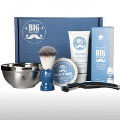 be10e6bab3fe Coffret de rasage Big Moustache Cadeaux Spéciaux, Coffrets Cadeaux, Cadeaux  Pratiques, Crème À