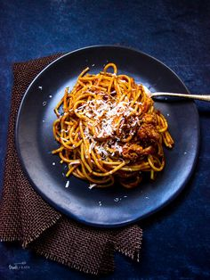 Pulled Pork Spaghetti with BBQ Sauce