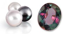 Lucky are the ladies born in June as they have two different Birthstones to choose from, Pearl and Alexandrite.  In addition, Pearls are the Anniversary Gemstone for the 3rd & 30th year and Alexandrite for the 55th year.