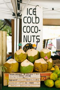 behind-the-scenes on madewell's summer 2016 collection shoot in oahu, hawaii: coconuts for sale #everydaymadewell