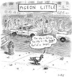 great pigeon cartoon