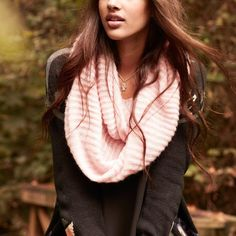 Ribbed Infinity Scarf at HelloShoppers