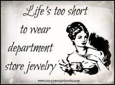 dept store jewelry ecard