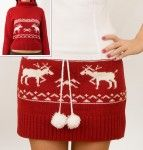 falda hecha con sueter