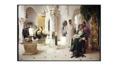 """Adolfo de Velasco dans sa maison tangéroise en 1991 . Photo extraite du livre """"Tangérois Forever"""" éditions Khbar Bladna . Photo Roland Beaufre . roland-beaufre.book.fr"""