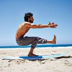 How to Build the Perfect Surfer's Body (Without Having to Surf): Health & Fitness : Details #travelbelize #stayfit