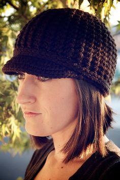 Women's Brimmed Beanie by OliJAccessories on Etsy, $25.00