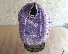 #Cuellos / bufanda ref. cup001 de punto tejido a mano en cotonet perlé acrílico 100%.  Tuyo en www.eltallerdenoa.com #scarf #muffler #Knitting #puntodemedia