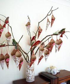 Like this idea for an Advent calendar.