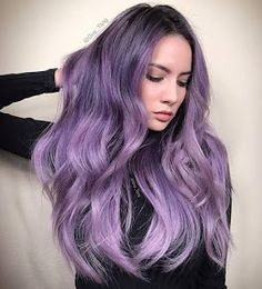 Dusty lavender hair hair wants цветные волосы, волосы, прически Pastel Purple Hair, Violet Hair Colors, Hair Color Purple, Cool Hair Color, Purple Ombre, Lilac Silver Hair, Violet Ombre, Purple Style, Deep Purple