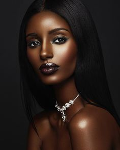 Fuschia hair on dark skinned black women - hd 1080 × Ebony Beauty, Dark Beauty, Beauty Skin, Black Girls Rock, Black Girl Magic, Brown Skin, Dark Skin, Fuschia Hair, Girl Faces
