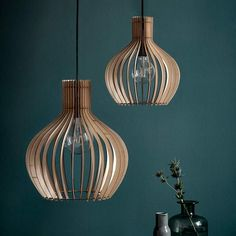 The Nordic inspired wooden cage pendant is perfect for creating that modern look in your home. Pair with an LED filament bulb for a gorgeous, warm illumination. Features an adjustable cable, which means you have control over the final look.