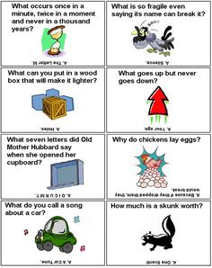 Lunch Box Riddles