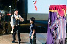 Cinearte Campo Grande-MS. A magia encanta as crianças.