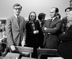 Clinton (pictured in 1974 as a lawyer for the Rodino Committee) served as Taylor's lawyer in 1975, when she was just 27 years old