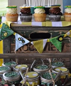 Party Frosting: Tractor party ideas/inspiration