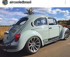 Classic Car News Pics And Videos From Around The World Ferdinand Porsche, Corsa Wind, Custom Vw Bug, Carros Lamborghini, Vw Classic, Beetle Car, Vw Cars, Volkswagen Bus, Cute Cars