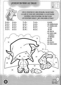 Archivo de álbumes Preschool Math, Kindergarten, Grammar Book, Math Multiplication, Second Grade, Album, Kids, Fictional Characters, Homeschooling