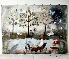 Anthro mural --