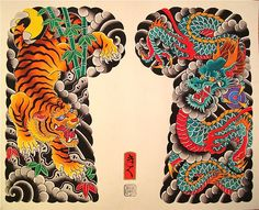 japanese tattoos for men Tattoo Japanese Style, Japanese Tiger Tattoo, Japanese Tattoos For Men, Japanese Dragon Tattoos, Traditional Japanese Tattoos, Japanese Sleeve Tattoos, Yakuza Style Tattoo, Irezumi Tattoos, Body Art Tattoos