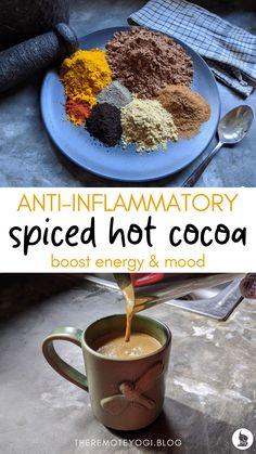 Cocoa Recipes, Tea Recipes, Coffee Recipes, Real Food Recipes, Hot Cocoa Recipe, Juice Smoothie, Smoothie Drinks, Smoothie Recipes, Drink Recipes